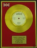 "SMALL FACES -  24 Carat Gold 7"" Disc - ITCHYCOO PARK"